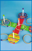 10 piece ring toss