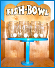 fish bowl ping pong game