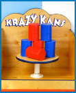 krazy kans game, crazy cans game