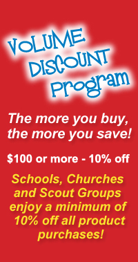 volume discount, schools, churches, scout groups
