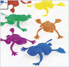 plastic jumping frogs
