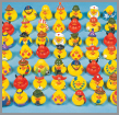 vinyl rubber ducks